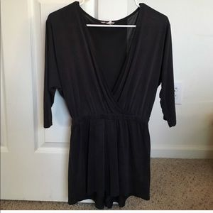 Urban Outfitters Charcoal Romper